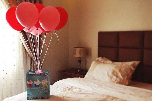 Украсить комнату на день рождения мужа фото